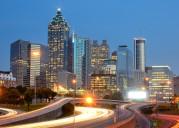 Downtown Atlanta, Georgia Skyline