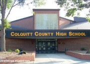 COLQUITT COUNTY HIGH SCHOOL MOULTRIE GEORGIA.