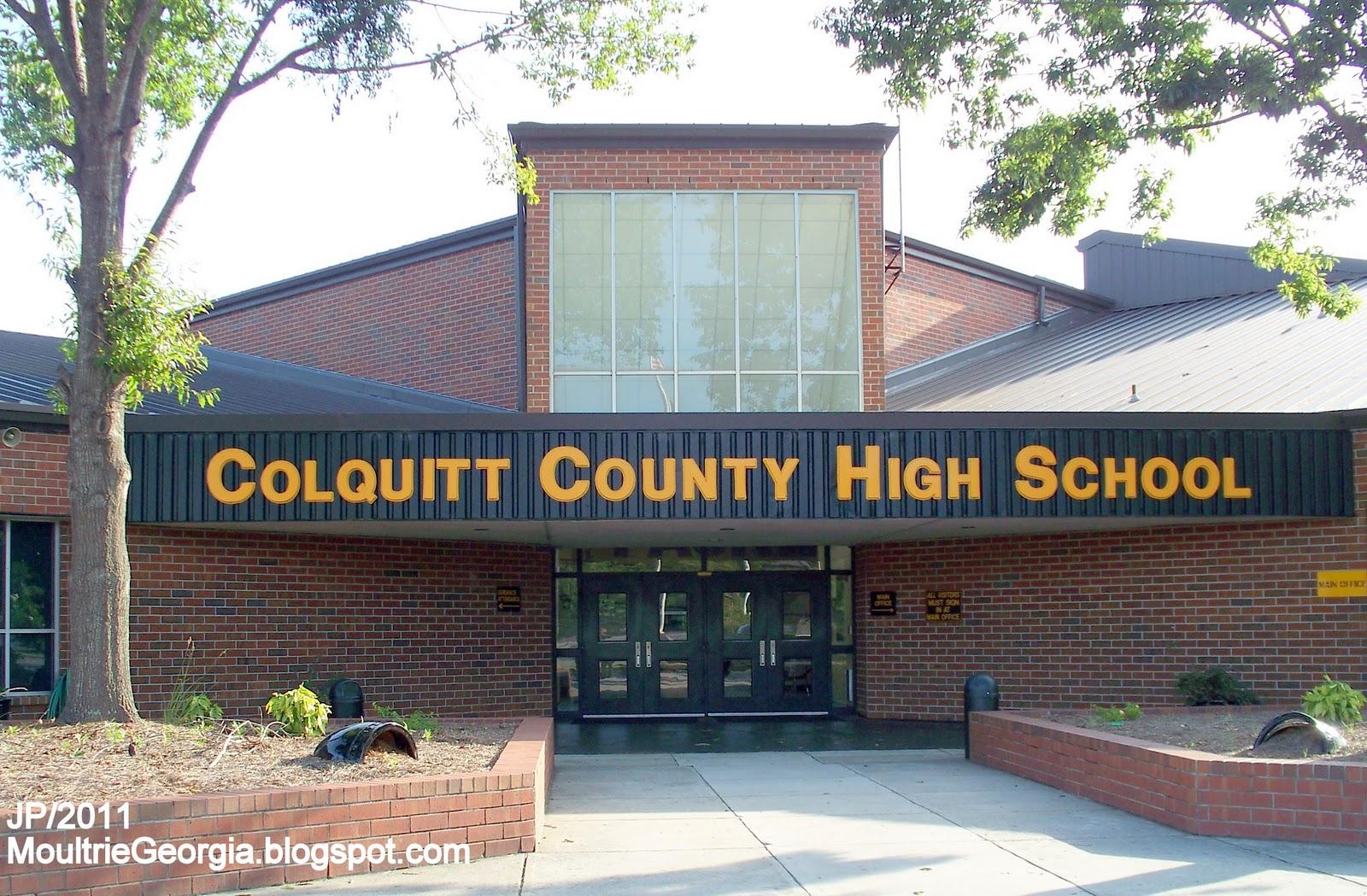Schools in Colquitt County